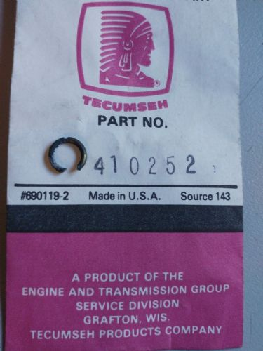 Tecumseh 410252 Fuel Line Clamp For TC300
